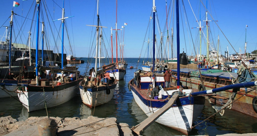 Port aux boutres Mahajanga