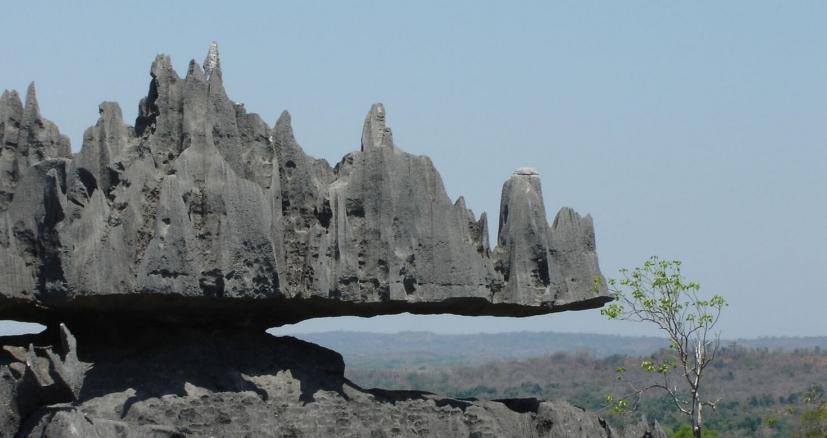 Le parc National Tsingy de Bemaraha